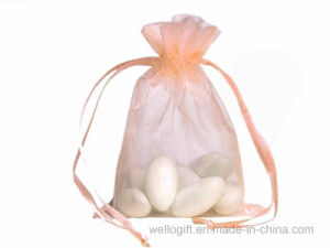 多彩で薄いドローストリングのオーガンザ袋の習慣によって印刷される包装袋