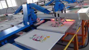 t-셔츠를 위한 기계를 인쇄하는 타원형 실크 스크린