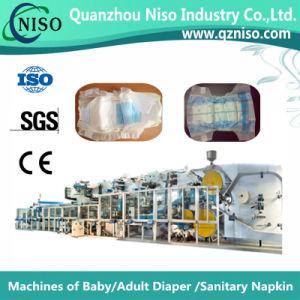 中国(YNK400-FC)からのSGSが付いている高速赤ん坊のおむつ機械