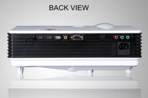 HDMIのアンドロイド、WiFiのUSB 2800lumens 1080P携帯用LEDのプロジェクター