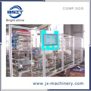 Ampola de garrafas de plástico de PVC formando enchimento e selagem máquina de corte