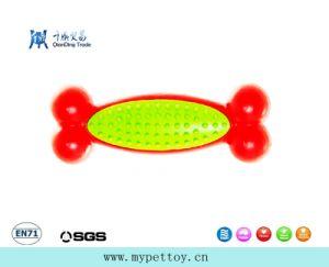 """"""" giocattolo di gomma classico della gomma del giocattolo del cane dell'osso 6.3"""