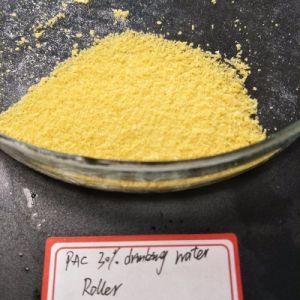 Poli cloruro di alluminio giallo-chiaro della polvere 28%-30% PAC per il trattamento delle acque