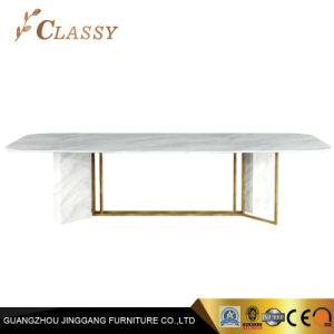 Novo Design Marble mesa de jantar moderna sala de jantar móveis