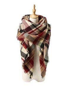 Hotsalesのスカーフのばねの熱の流行の暖かく総括的なスカーフの豪華な覆いのショール