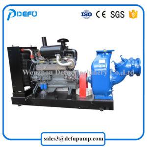 Alimentation d'usine de moteurs Diesel Pompe centrifuge à amorçage automatique des boues