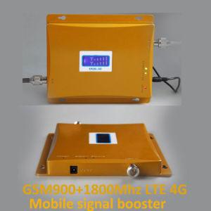 Lcd-Bildschirmanzeige! Des hoher Gewinn-Doppelbandsignal-4G Signal-Verstärker-Verstärker Verstärker-G-/M900 4G Lte 1800