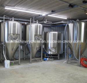 Vinho de cerveja em aço inoxidável sanitário para tanque de fermentação (ACE-FJG-H2)