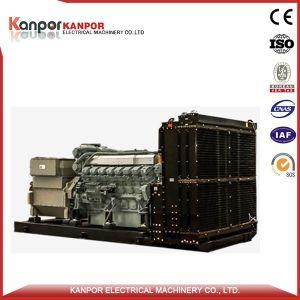 Economia del combustibile diesel del generatore del Mitsubishi 1600kw 2000kVA (1760kw 2200kVA)