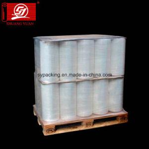 試供品LLDPEのプラスチックストレッチ・フィルムのジャンボロールのプラスチックフィルム