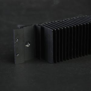 Dissipateurs de chaleur en aluminium noir pour LED éclairage de rue