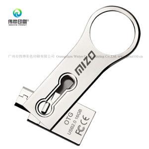 OEM hecho personalizado Regalo Promocional Metal Disco USB
