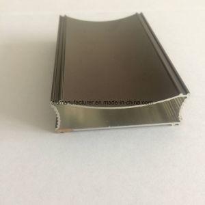 Quadrato, profilo rotondo e differente dell'espulsione della lega di alluminio per il portello e tubo 51 della finestra