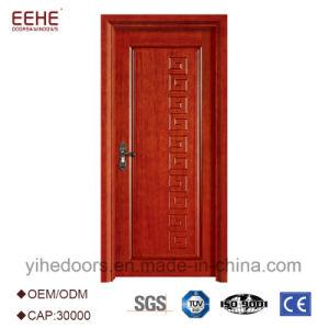 Portello di legno interno personalizzato con il MDF
