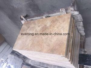 Travertineのペーバーの浴室のためのベージュTravertineの大理石のタイル