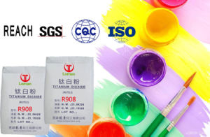 Het Dioxyde van het Titanium van het rutiel voor Pigment en Verven R908