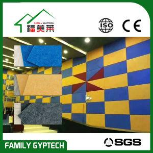 La fibre de polyester panneau mural pour Kingdergarten acoustique