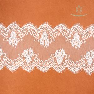 Señoras africanos vestidos de novia rosa de encaje Guipure Material