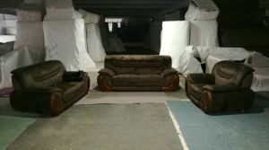 工場卸売価格のホテルの家具ファブリックソファー(2109)