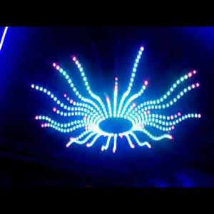 A luz de LED DMX Pixel por pixel