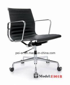 Eamesの元の革家具のホテルの旋回装置の事務長の椅子(E001B)