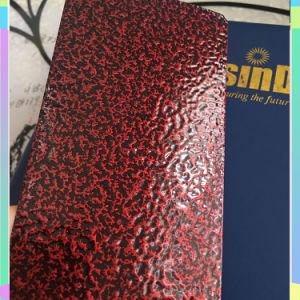 Hsindaの新製品の骨董品のワニのひびの質の粉のコーティング