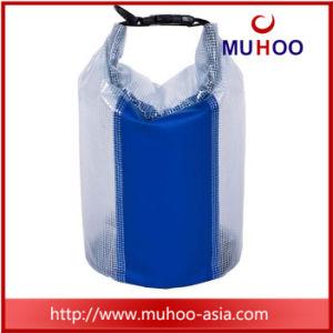 5L水泳のための透過PVC防水浜のバケツの乾燥した袋