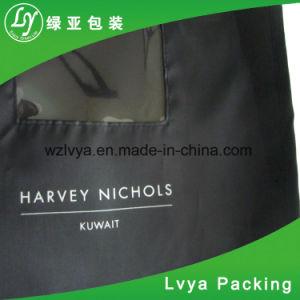 PEVA personalizado ropa vestido de traje de cubierta de la bolsa con ventana transparente