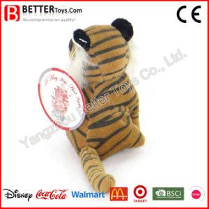Giocattolo molle della tigre della peluche dell'animale farcito di promozione per i capretti