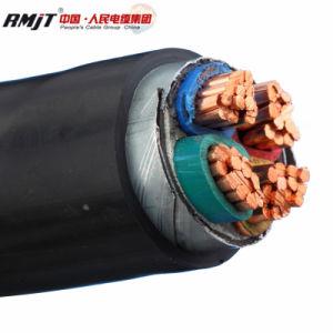 Cu conducteur blindé de bandes en acier avec isolation XLPE Câble d'alimentation