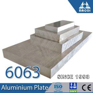 6061 6082 T6 de metal de la placa de aluminio fabricado en China