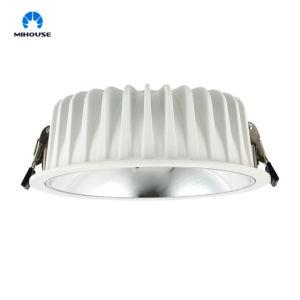 LED de rafles Downlight encastré avec de multiples Watts plusieurs tailles (R&D Gradation/Rendement lumineux élevé/Dazzle libre/90IRC)