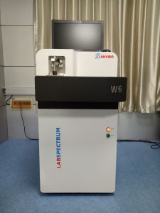 ステンレス鋼のためのCutsomのロゴの光学放出分光計