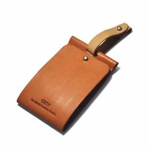 De alta calidad de suministro de cuero auténtico Hang Tags para prendas de vestir