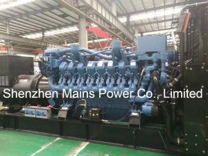 1250kVA Mtu 디젤 엔진 발전기 M1250g 비상 전원 Mtu 발전기