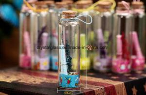 Желая бачок мини стеклянную бутылку День Рождения настоящего