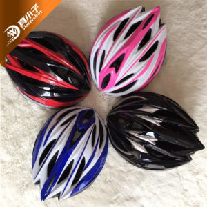 Venta caliente adulto casco de bicicleta de ciclismo PC en el molde bicicleta cascos bicicleta adulto personalizada