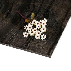 De donkere Kleur van Marmer verglaasde Opgepoetste Tegels voor Vloer Foshan