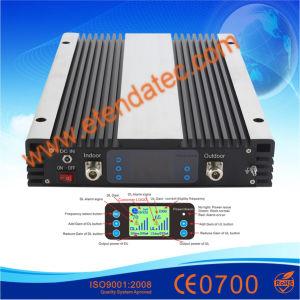 10dBm a 30dBm 60-85dB900MHz GSM DCS1800 WCDMA2100 Amplificador de banda triple refuerzo celular 3G 4G LTE repetidor de señal móvil