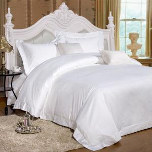 Katoenen van het Beddegoed van de Luxe van het hotel de Vastgestelde In het groot Volledige Textiel van het Hotel (JRD816)