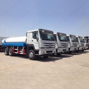 Sinotruck Cnhtc 6の荷車引きHOWOのスプレーの噴霧の飲料水のトラック