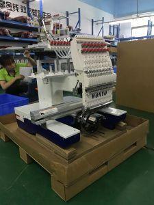 単一ヘッド12/15カラー安い刺繍機械