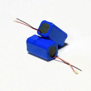 Pak van de Batterij van Li van het Lithium Ionen7.4V 5200mAh van de douane het Navulbare Ionen voor de LEIDENE van de Lamp van de Noodsituatie Lichte Batterijen van de Flits