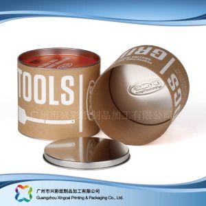 Custom жесткой упаковки бумаги трубы подарок для приготовления кофе // вино упаковки (xc-ptp-017A)