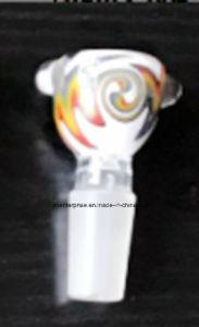 Cc37 Wigwag tazón de vidrio para pipa
