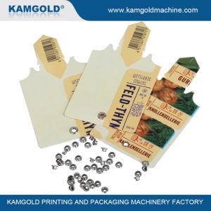 Kamgold Kv-230 Máquina Automática Hangtag ojal de perforación