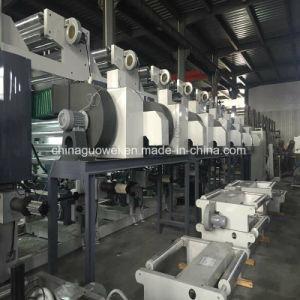 Drei Farben-Gravüre-Drucken-Maschine des Motor8 mit 160m/Min