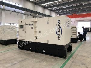 Ce/ISOの130kVA Cumminsによって動力を与えられる無声ディーゼル発電機