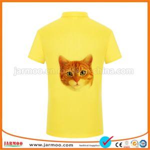 デザイン印刷のカスタムポロシャツを放しなさい