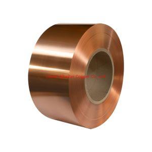 La banda de cobre rojo C1100
